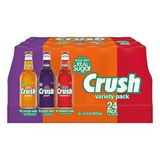 Crush Variety Pack (12 oz. glass bottle, 24 pk.)