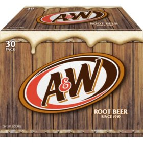 A&W Root Beer (12oz / 30pk)
