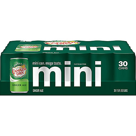 Canada Dry Ginger Ale Mini (7.5oz / 30pk)