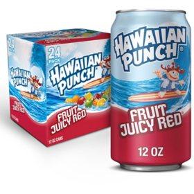 Hawaiian Punch Fruit Juicy Red (12 oz., 24 pk.)