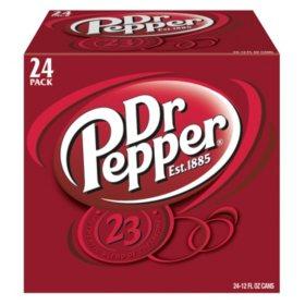 Dr Pepper (12 oz., 24 pk.)