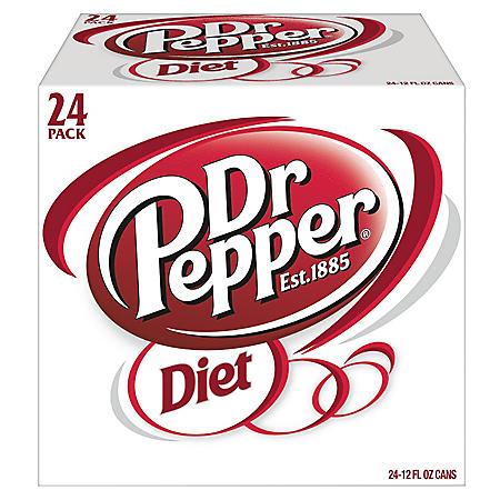 Diet Dr. Pepper (12oz / 24pk)