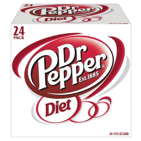 Diet Dr. Pepper (12 oz. cans, 24 pk.)