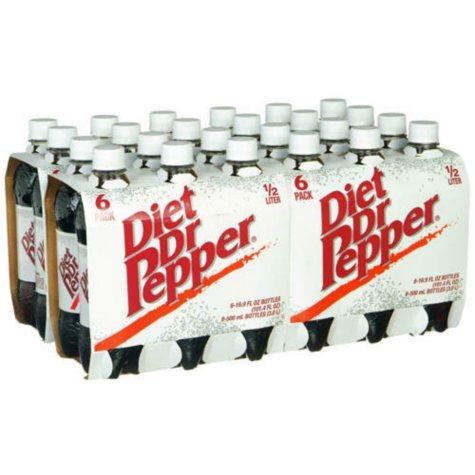 Diet Dr. Pepper (16.9 oz. bottles, 24 pk.)