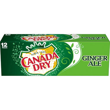 Canada Dry Ginger Ale (12 oz. cans, 12 pk.)
