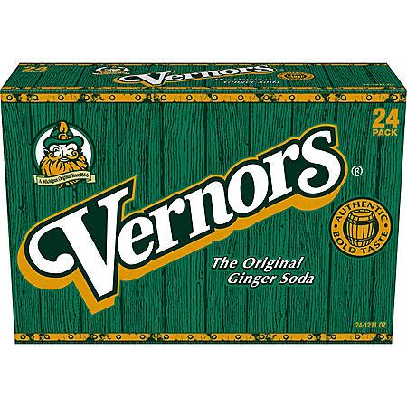 Vernors Ginger Soda (12oz / 24pk)
