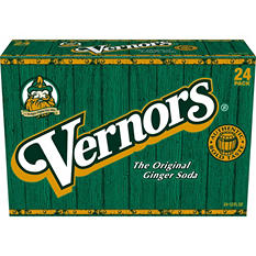 Vernors Ginger Ale (12 oz. cans, 24 ct.)