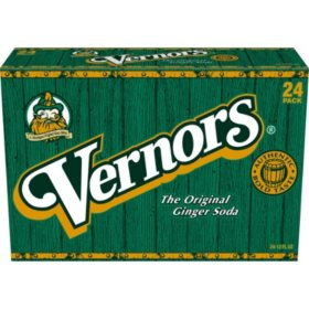 Vernors Ginger Soda (12oz / 24pk)