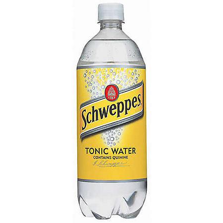 Schweppes Tonic Water (1 L, 15 pk.)