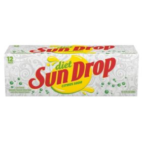 Diet Sun Drop Citrus Soda (12oz / 24pk)