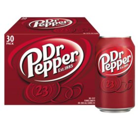 Dr Pepper (12 oz., 30 pk.)