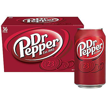 Dr Pepper (12 oz., 36 pk.)