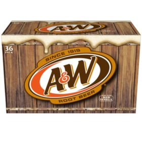 A&W Root Beer (12 oz. cans, 36 pk.)