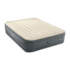 Intex Queen PremAire II Elevated Airbed with Fiber-Tech and Digital Pump