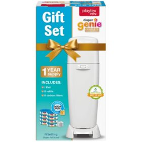 Playtex Diaper Genie All-in-One Gift Set (Pail, Refills and Filters)