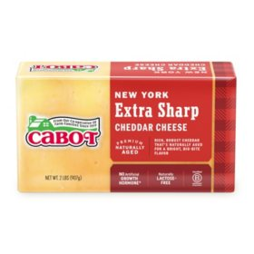 Cabot Extra Sharp Cheddar Cheese (2 lbs.)