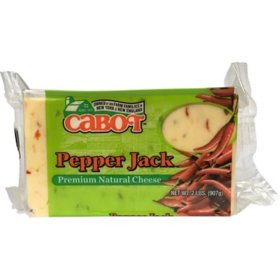 Cabot Pepper Jack Cheese (2 lb.)