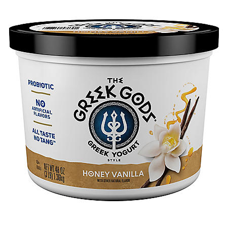 The Greek Gods Honey Vanilla Greek-Style Yogurt (3 lbs.)