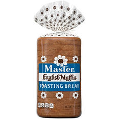 Master English Muffin Toasting Bread (16 oz., 2 ct.)
