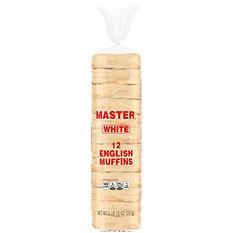 Master® English Muffins - 12ct