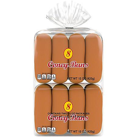 Grandma Sycamore's Home-Maid Coney Hot Dog Buns (30oz)