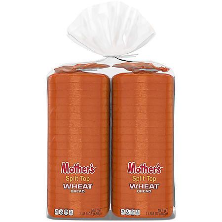 Mother's Butter Top Wheat Bread (24oz / 2pk)