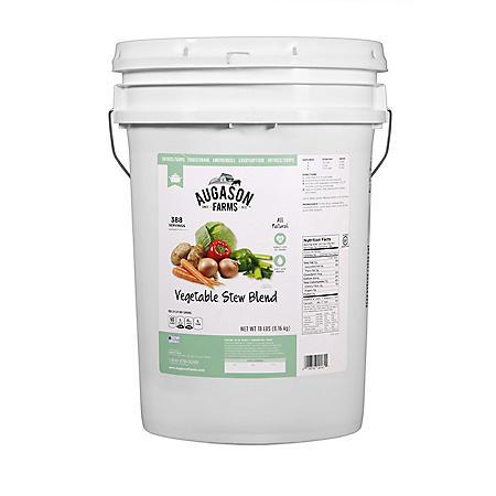 Augason Farms Vegetable Stew Blend (18 lb. pail)