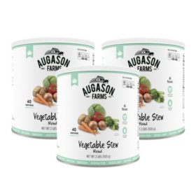 Augason Farms Vegetable Stew Blend (33 oz., 3 pk.)