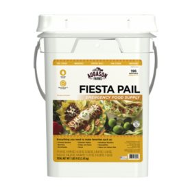 Augason Farms Fiesta Emergency Food Supply Pail (4 gal.)