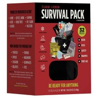 Augason Farms 72-Hour 2-Person Survival Pack with Food, Water, and Gear