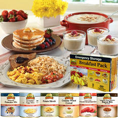 Augason Farms Food Storage Breakfast Pack