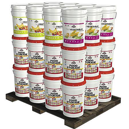 Augason Farms Superior Emergency Food Storage Kit (1 year