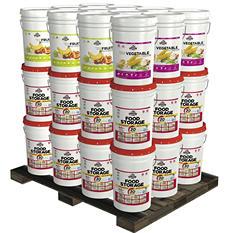 Augason Farms Superior Emergency Food Storage Kit (1 year, 2 people)