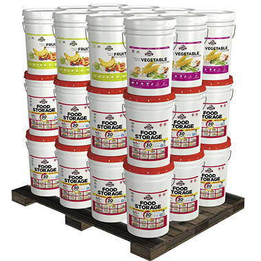 Augason Farms Superior Emergency Food Storage Kit (1 year, 2 people)