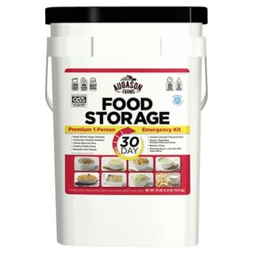 Augason Farms Emergency Food Supply (30-Days 1-Person) – QSS Certified