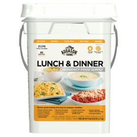 Augason Farms Lunch & Dinner Emergency Food Supply Pail