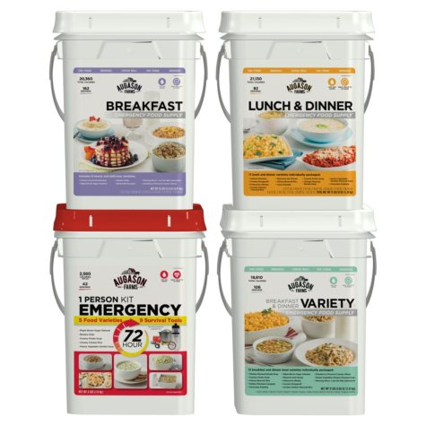 Augason Farms Emergency Food Supply (4 People, 1 Week)