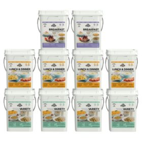 Augason Farms Emergency Food Supply Kit (1 month, 4 people)