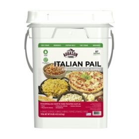 Augason Farms Italian Variety Kit Emergency Food Supply Pail (4 gal.)