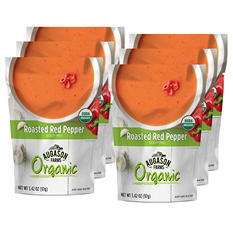 Augason Farms Organic Roasted Red Pepper Soup Mix (6 pouches)