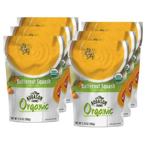 Augason Farms Organic Butternut Squash Soup Mix (6 pouches)