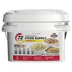 Augason Farms Emergency Food Supply Kit (72 hours, 1 person)