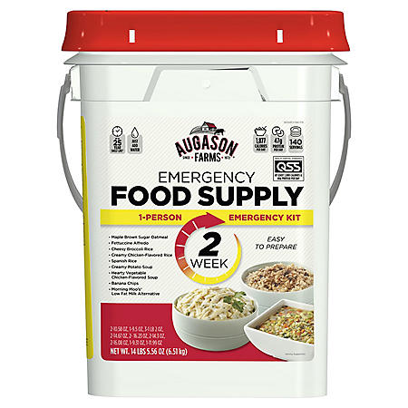 Augason Farms Emergency Food Supply (2-Weeks 1-Person) QSS Certified