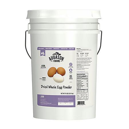 Augason Farms Dried Whole Eggs (18 lb. pail)