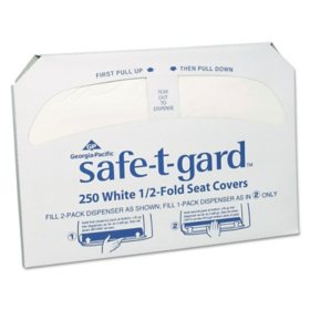 Georgia Pacific Yours Alone Toilet Seat Covers (2,500 ct.)