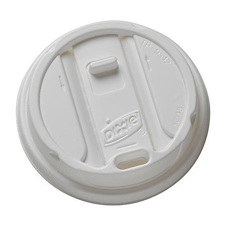 Dixie Large Reclosable Plastic Hot Cup Lid, 1000 Count (TP9542)