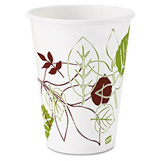 Dixie Pathways Polycoated Paper Cold Cups, 12oz -  2400/Carton