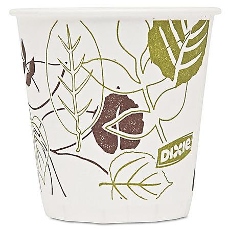 Dixie Pathways Paper Hot Cups, 3 oz, 2400 ct (45PATH