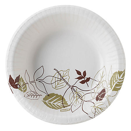 Dixie Ultra 12 oz. Heavy-Weight Paper Bowls, Pathways - SX12PATH (1000 ct.)