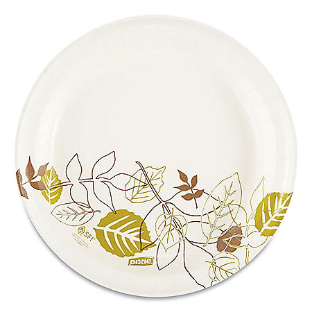 "Dixie ® 8.5"" Medium-Weight Paper Plates, Pathways® - UX9WS (500 ct.)"